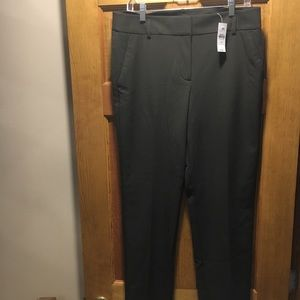 LOFT Dark Green Dress Pants